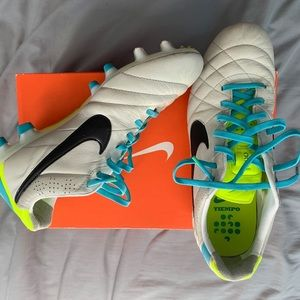 New nike tiempo cleats